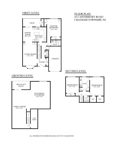 60 canterbury road chatham township new jersey condo Canterbury floor plan